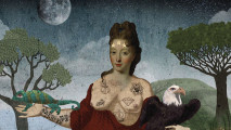 art, altered,  Lady Alchymia, daphne christopherou