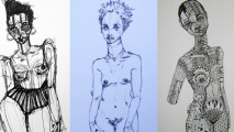 art, Brianna McCarthy, Compliation, nude sketches,  copy