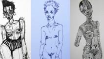art, Brianna McCarthy, Compliation, nude sketches,  copy
