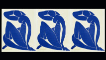 art, Matisse, b & w Compiliation, Blue Nude 2, copy
