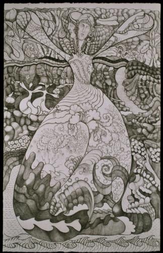 art, Carole KaufmannGodess 2004-6