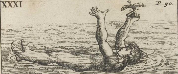 art, nn, To swim holding up the hands, Monsìeur Thevenot, jpg