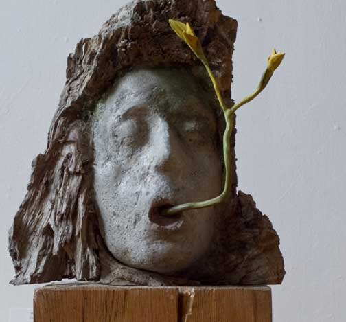 Mother Earth, sculpture